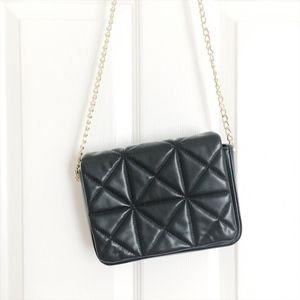 Zara Quilted Crossbody Clutch w/ Removable Straps